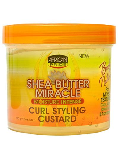 AFRICAN PRIDE SHEA BUTTER CURL STYLING CUSTARD
