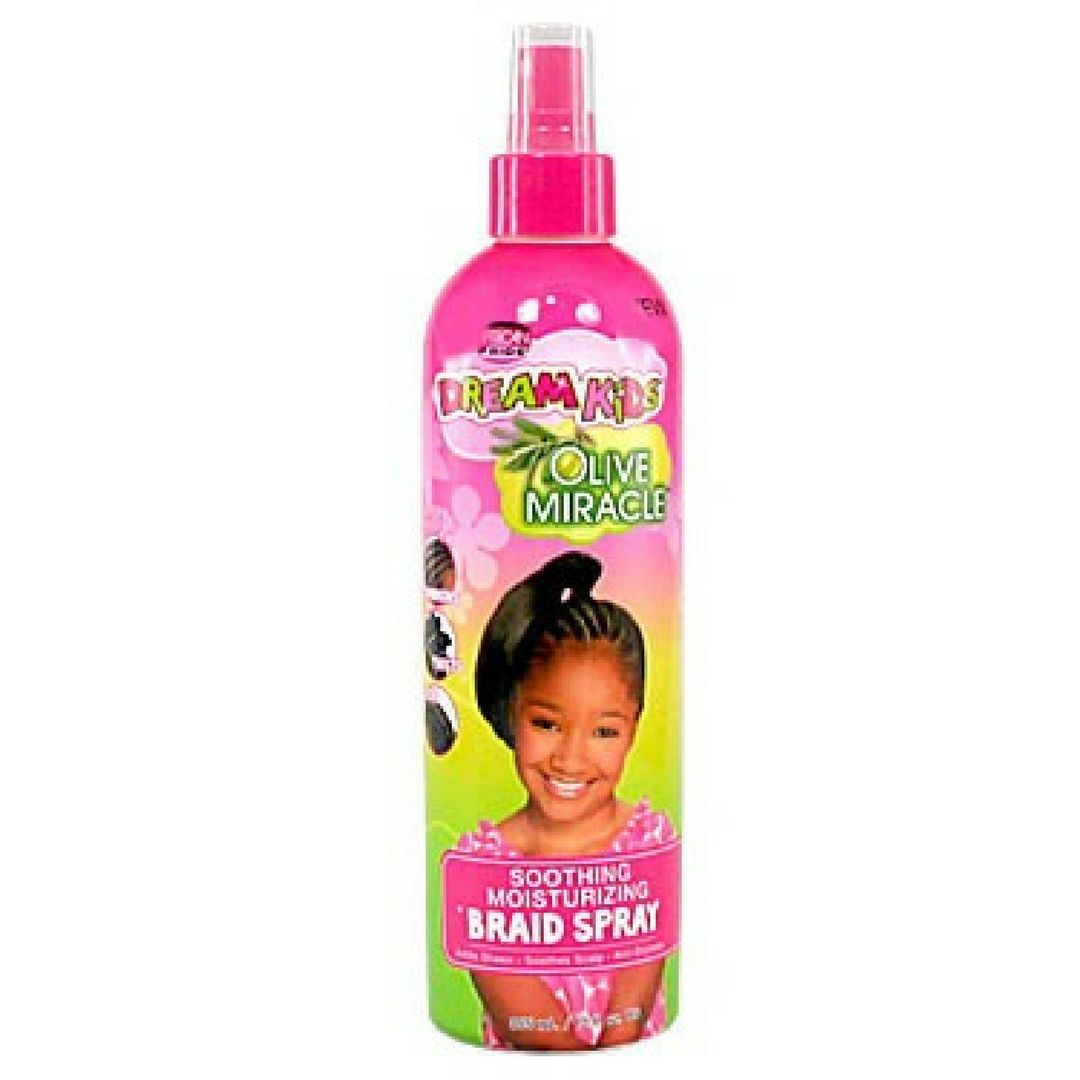 African Pride Dream Kids Soothing Moisturizing Briads Spray