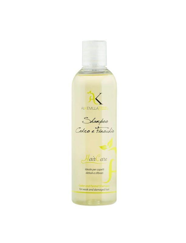 Alkemilla Shampoo Bio Cedro e Finocchio