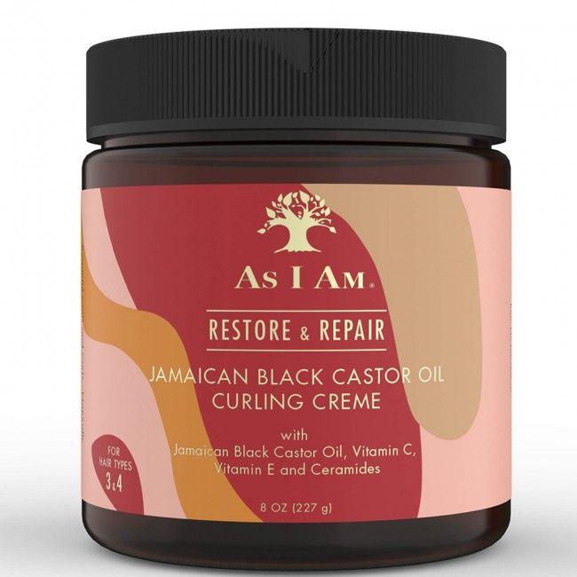 As I Am Jamaican Black Castor Oil Curling Creme