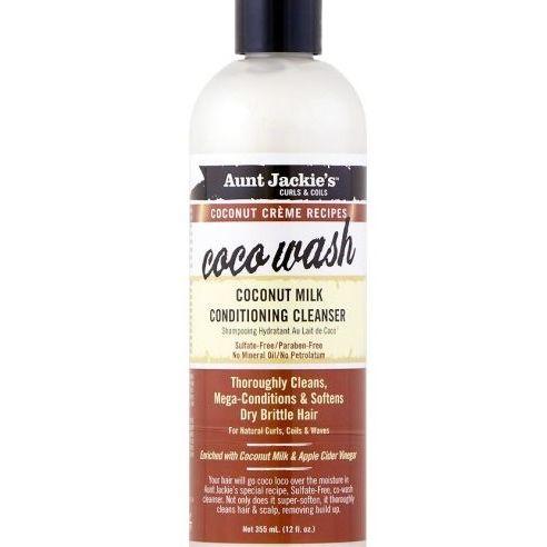 Aunt Jackie's Coconut Creme Recipe COCO WASH Coconut Milk Conditioning Cleanser