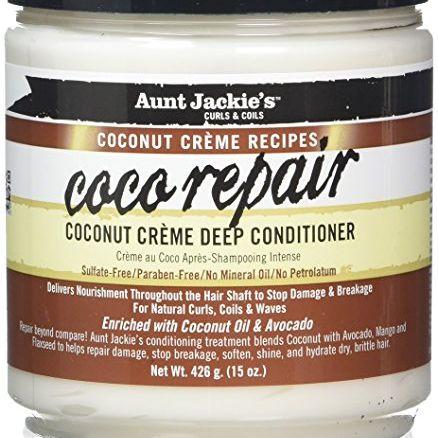 Aunt Jackie's Coconut Creme Recipes Coco Repair Deep Conditioner