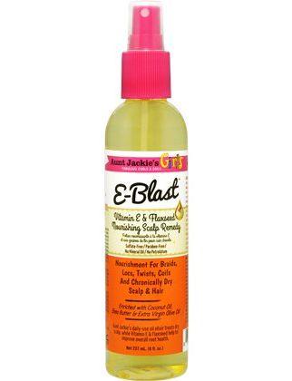 Aunt Jackie's Curls & Coils Girls E-Blast Vitamin E & Flaxseed Nourishing Scalp Remedy