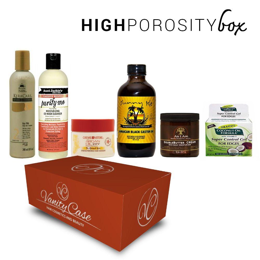 High Porosity Hair Care Box Products Vanitycase It En