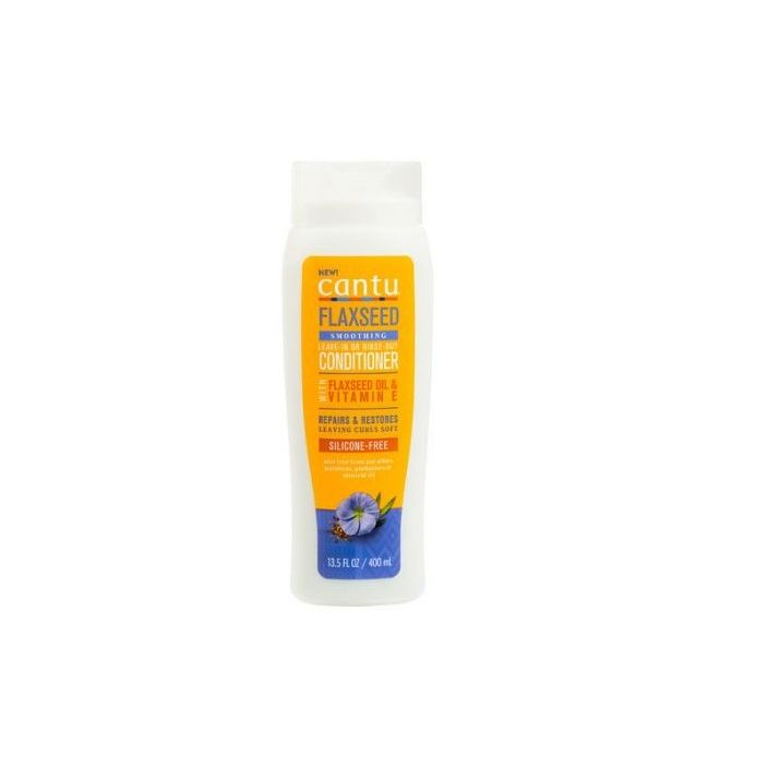 CANTU FLAXSEED SMOOTHING LEAVE-IN OR RINSE OUT CONDITIONER
