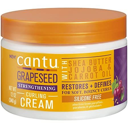CANTU GRAPESEED STRENGTHENING CURLING CREAM