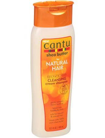 CANTU SHEA BUTTER FOR NATURAL HAIR CLEANSING CREAM SHAMPOO
