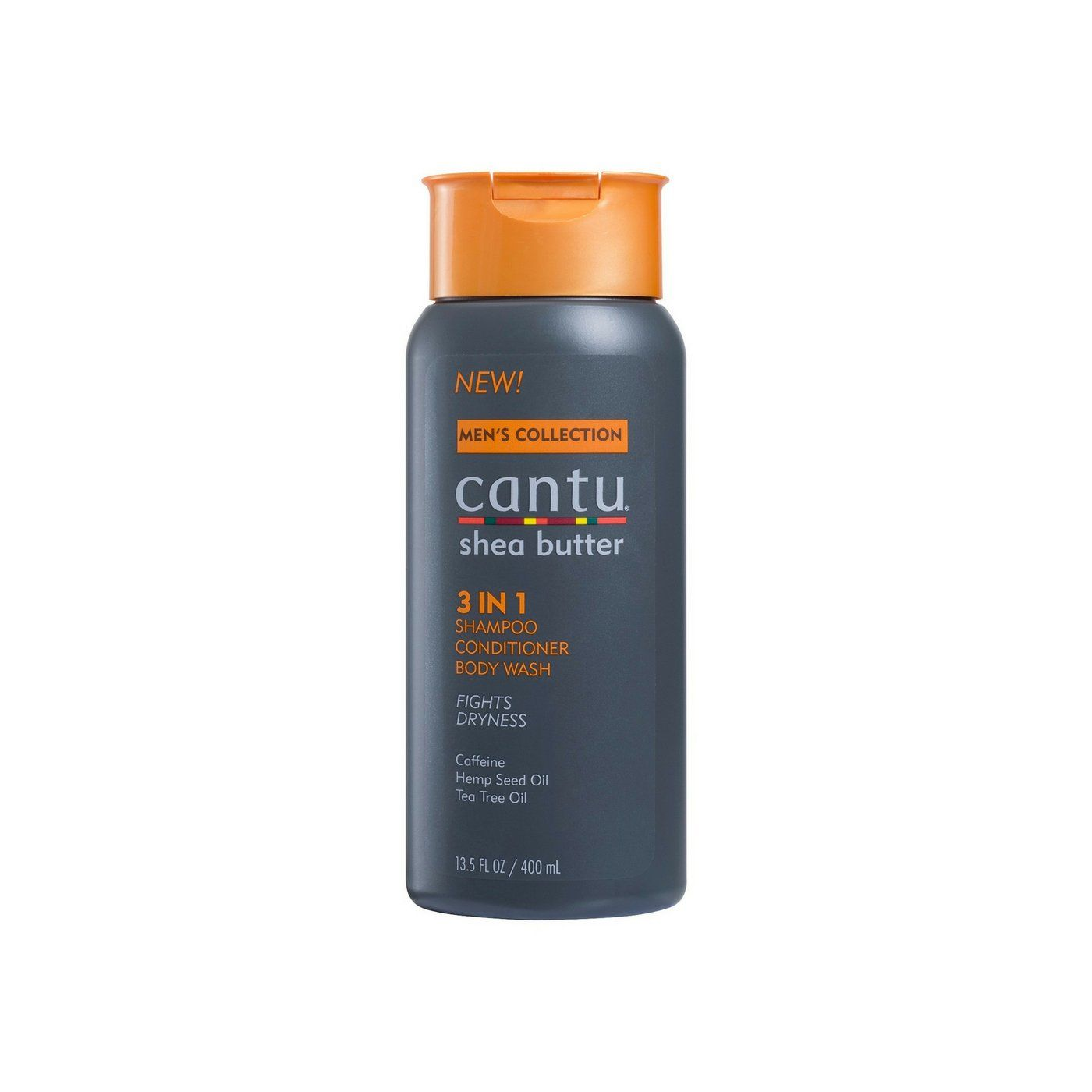 Cantu Men 3 in 1 Shampoo Conditioner Body Wash