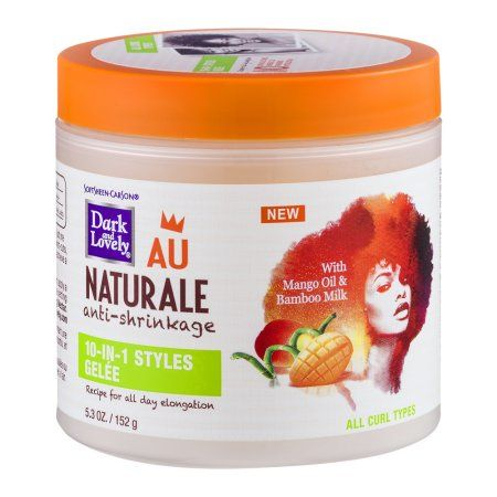 Dark and Lovely Au Naturale Anti Shrinkage 10-IN-1 STYLES GELÉE