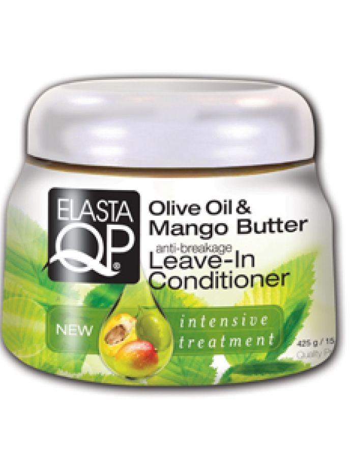 Elasta QP Olive Oil And Mango Butter Leave-In Conditioner