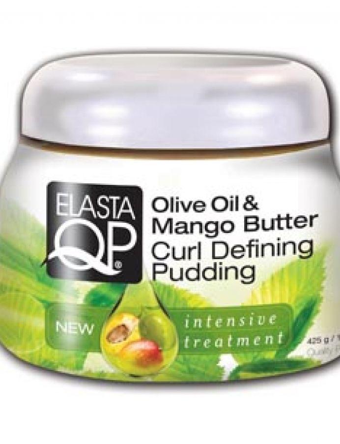 ElastaQP Olive Oil & Mango Butter Curl Defining Pudding