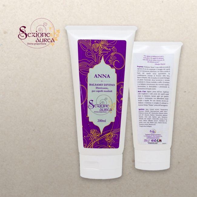 Sezione Aurea Cosmetics Balsamo Divino ANNA