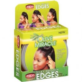 African Pride Olive Miracle Silky Smooth Edges Hair Gel