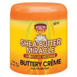 African Pride Shea Butter Miracle Buttery Crème