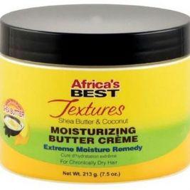 Africa's Best Textures Shea Butter & Coconut Moisturizing Butter Creme