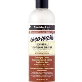 Aunt Jackie's Coconut Creme Recipe COCO WASH Coconut Milk Conditioning Cleanser