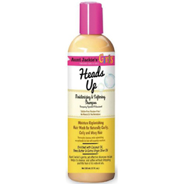Aunt Jackie's Curls & Coils Girls Heads Up Moisturizing & Softening Shampoo