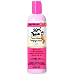 Aunt Jackie's Curls & Coils Girls Knot Havin' It! Leave-In Ultimate Detangling Moisturizer