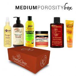 MEDIUM POROSITY hair box