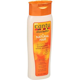 CANTU SHEA BUTTER FOR NATURAL HAIR CLEANSING CREAM SHAMPOO