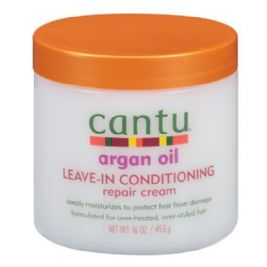 Cantu Shea Butter Argan Oil Leave In Conditioning Repair Cream