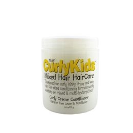 CurlyKids Mixed Hair HairCare Curly Creme Conditioner