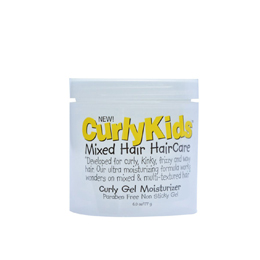CurlyKids Mixed Hair HairCare Curly Gel Moisturizer