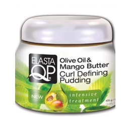 ElastaQP Olive Oil & Mango Butter Curl Defining Pudding