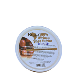 KUZA 100% AFRICAN SHEA BUTTER SOLID WHITE
