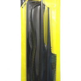 Magic Collection Professional Comb Set 4 pcs #1111BLA