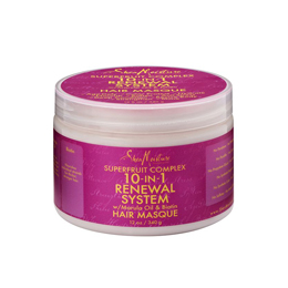 SHEA MOISTURE SUPERFRUIT COMPLEX 10-IN 1 RENEWAL SYSTEM HAIR MASQUE