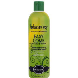 Texture My Way Easy Comb Leave-In Detangling & Softening Crème Therapy