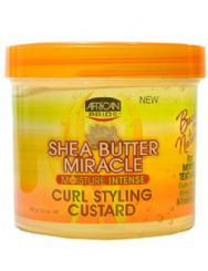 AFRICAN PRIDE SHEA BUTTER CURL STYLING CUSTARD - 340 g
